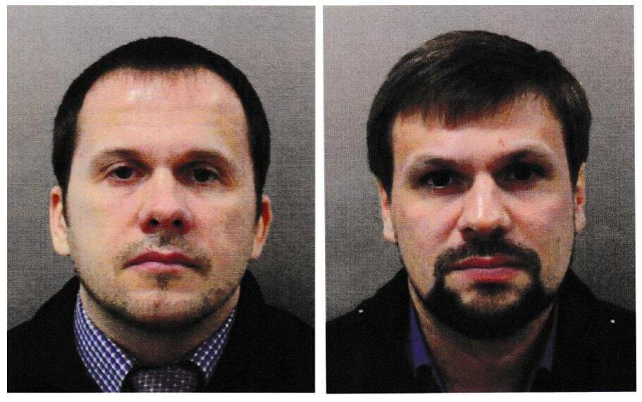 Ruslan Bochirov e Alexander Petrov são suspeitos de envenenar ex-espião russo
