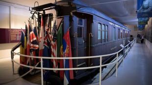 Le train de Compiègne, du nom de la forêt où a été signé l'accord historique concernant la fin de la Première Guerre mondiale.
