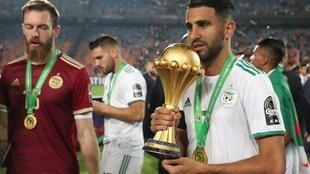 L'Algérie de Riyad Mahrez, championne d'Afrique en titre, est une sérieuse prétendante pour le titre d'Équipe nationale africaine de l'année.