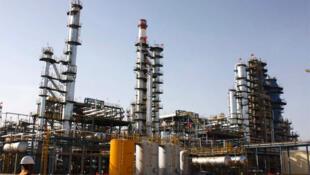 La raffinerie de pétrole de Zinder au Niger.