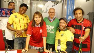 L'équipe du Café des Sports.