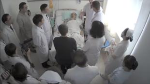 刘晓波在中国医科大学附属第一医院保外就医