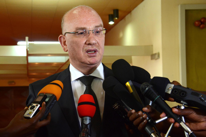 Smaïl Chergui, commissaire à la paix et à la sécurité de l'Union africaine, au Burundi le 19 janvier 2017.