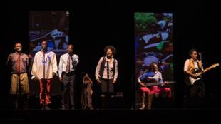 Le spectacle Congo Jazz Band a été joué sur la scène de l'Opéra de Limoges du 24 au 26 septembre, dans le cadre du festival Zébrures d'automne.
