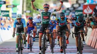O espanhol Vicente García de Mateos da equipa portuguesa Aviludo-Louletano venceu a oitava etapa da Volta a Portugal.