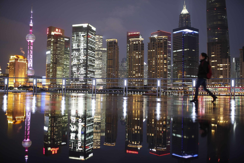 Pudong, le quartier des affaires de Shanghaï (image d'illustration).