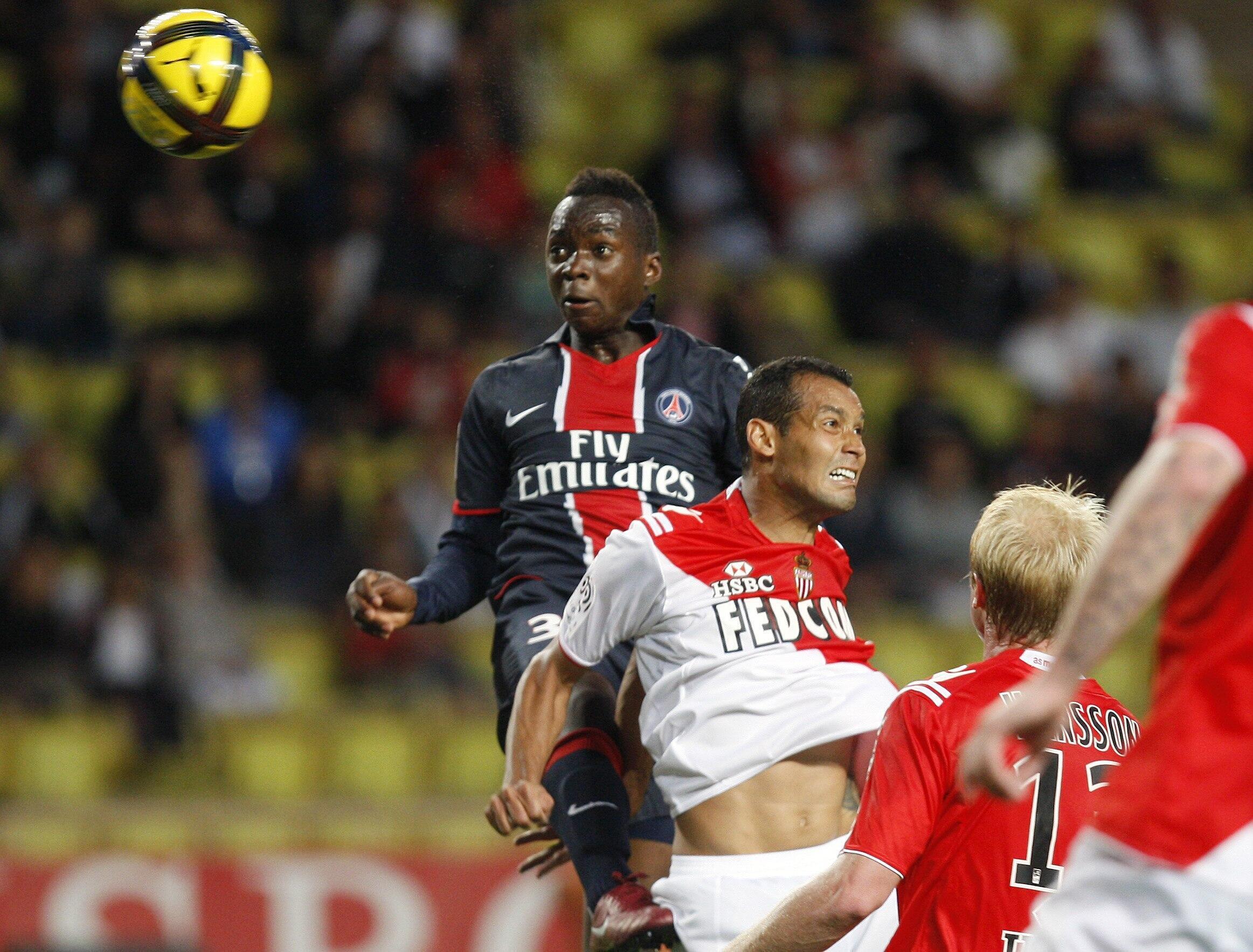Neeskens Kebano sous les couleurs du PSG.