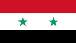Drapeau syrien.