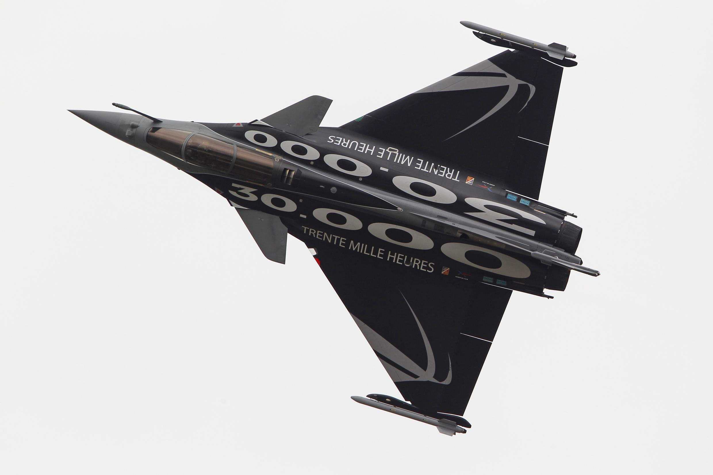 O caça francês Rafale, do Grupo Dassault.