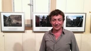 Laurent Van der Stockt à Visa pour l'image.