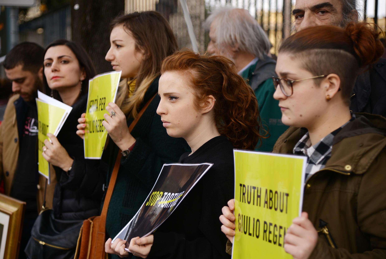 Après la disparition de Giulio Regeni, de nombreuses personnes avaient manifesté pour comprendre ce qu'il s'était passé.