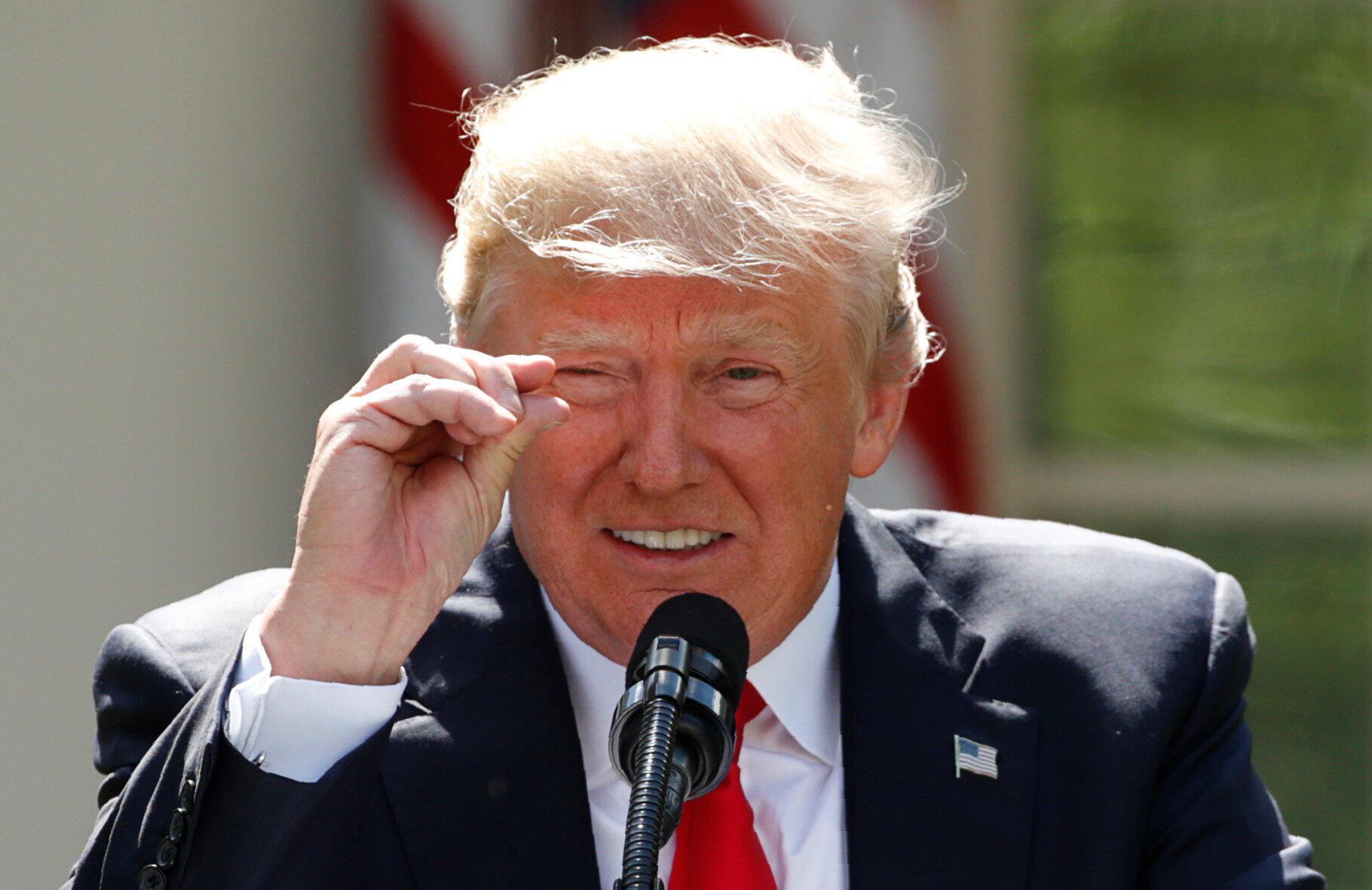 Tổng thống Mỹ Donald Trump. Ảnh minh họa.