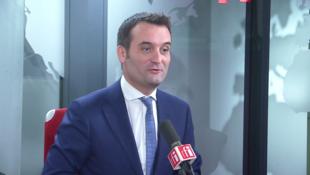 Florian Philippot sur RFI le 21 janvier 2019.