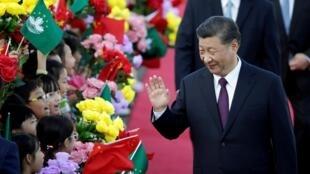 Chủ tịch Trung Quốc Tập Cận Bình hôm qua 18/12/2019 sang thăm Macao nhân dịp 20 năm cựu thuộc địa Bồ Đào Nha được trả cho Trung Quốc.