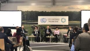 """José Mendes foi um dos intervenientes na sessão """"Intensificar a acção climática no sector dos transportes"""", na COP24."""