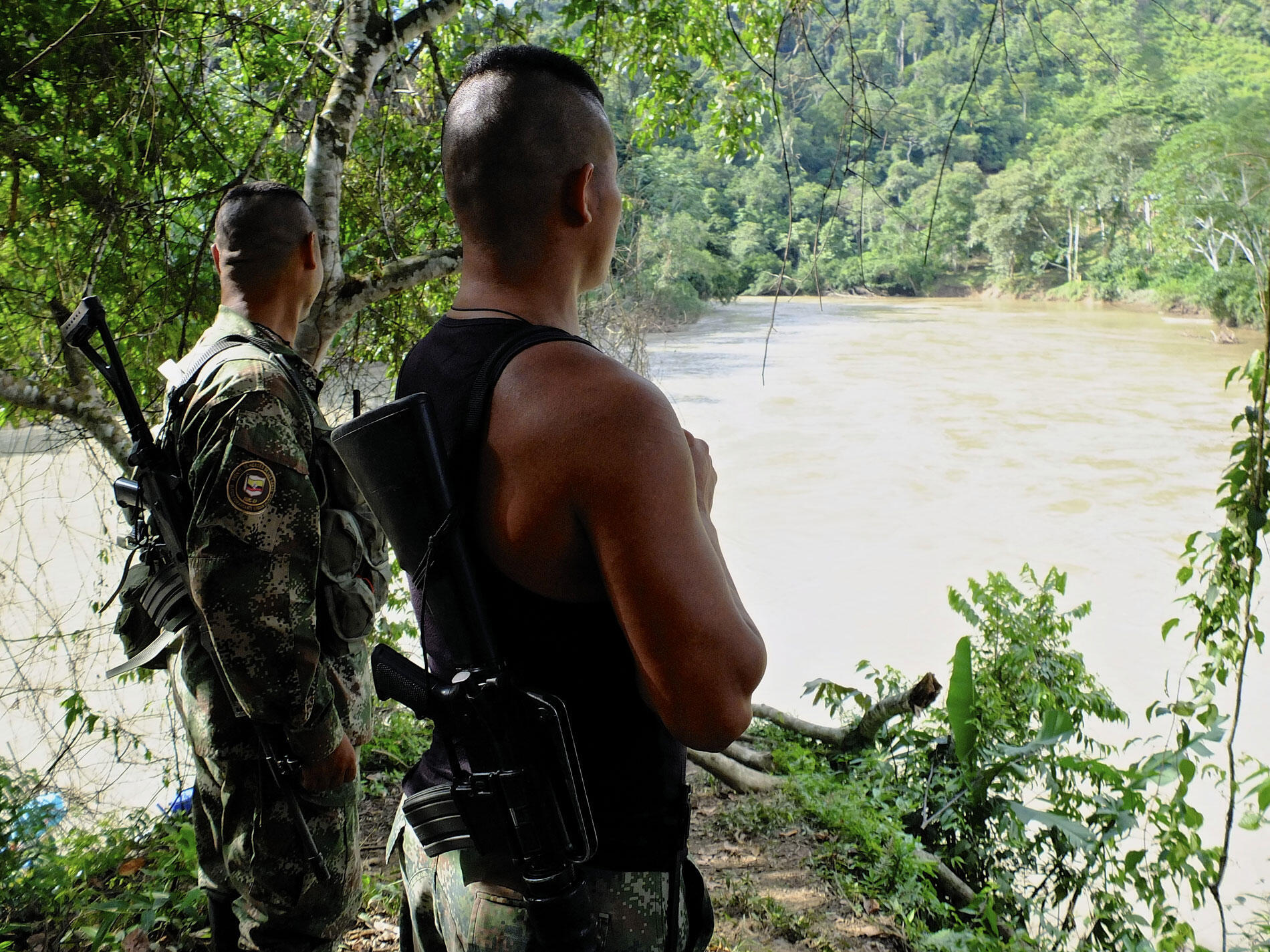 Diaporama: La guerrilla colombiana, en el umbral de la paz