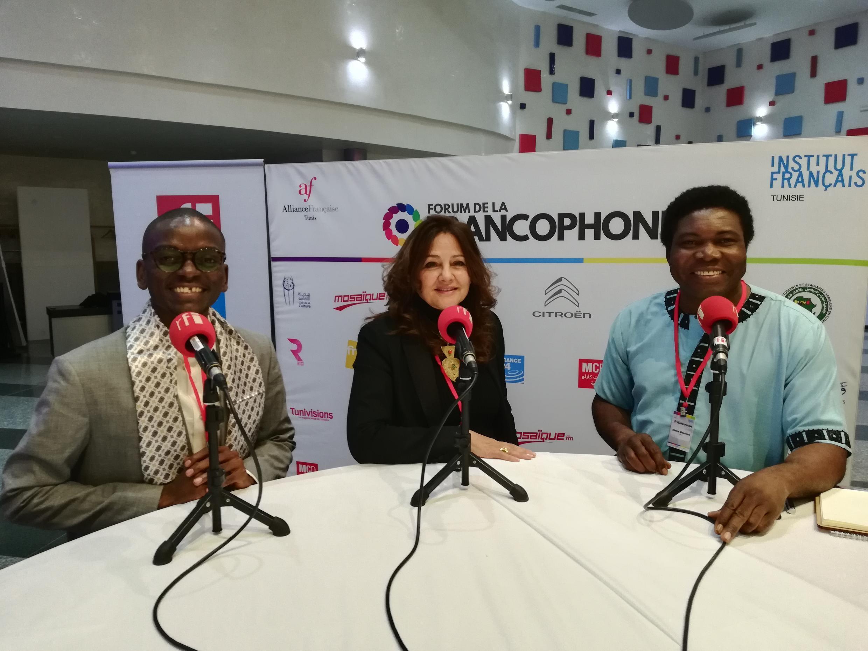 Paul Emmanuel Ndjeng, Faouzia Zouari, Etienne Minougou