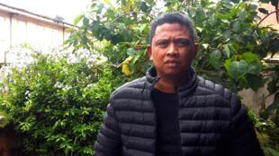 Eric Raparison, le leader de la SIF, une plateforme d'organisations paysannes spécialisées dans les questions foncières.