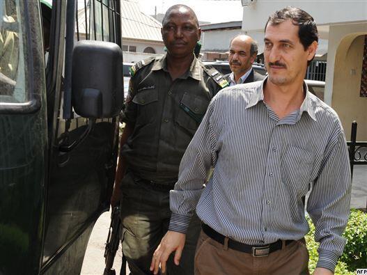 محاکمۀ عظیم آقاجانی به اتهام قاچاق اسلحه درنیجریه آغاز شد