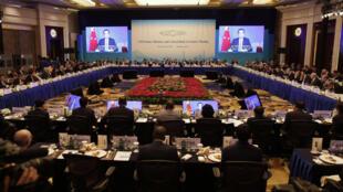 Hội nghị G20 tại Thượng Hải, Trung Quốc, 26/02/2016.
