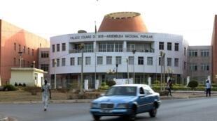 Le siège de l'Assemblée nationale en Guinée-Bissau.