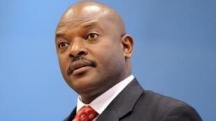 O Presidente do Burundi, Pierre Nkurunziza