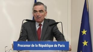 Jean-Claude Marin, prosecutor leading the inquiry, speaks at a press conference about the hostages in January.