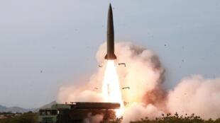 朝鮮再度發射彈道導彈