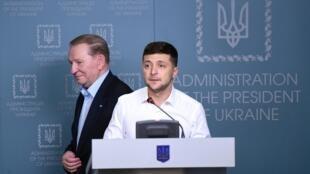 Леонид Кучма вновь возглавит украинскую делегацию в трехсторонней контактной группе по урегулированию конфликта в Донбассе