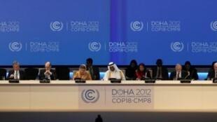 La 18e Conférence de l'Onu sur le changement climatique se déroule du 26 novembre au 7 décembre 2012 à Doha, au Qatar.