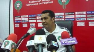 Le sélectionneur marocain, Rachid Taoussi.