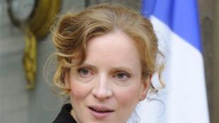 Nathalie Kosciusko-Morizet, ministre du Développement de l'économie numérique, le 27 mai 2009.