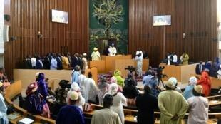 Ouverture de la séance parlementaire samedi 4 mai à Dakar.