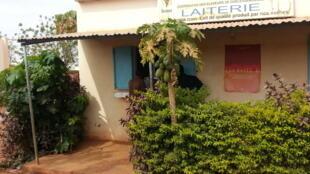 Point de vente de la coopérative des éleveurs de Ouéléssébougou au Mali.