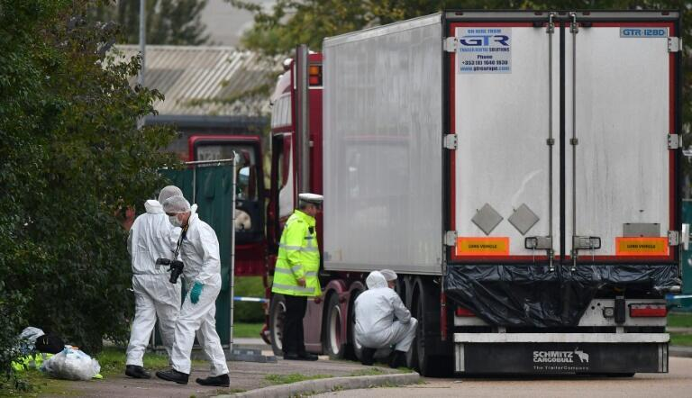 Two Vietnamese families have said they fear their relatives are among those found dead in a truck in the UK