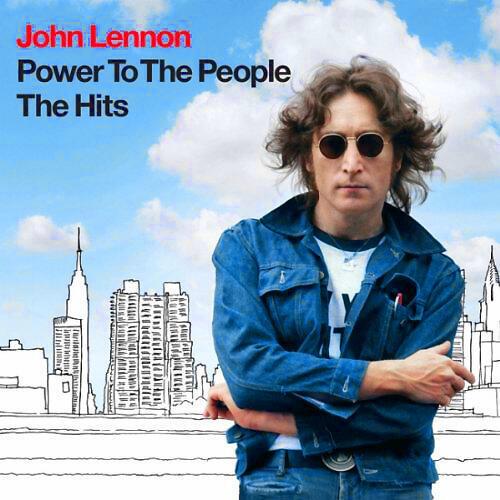 """Hình bìa tuyển tập """"Power  to the People"""" của John Lennon (DR)"""