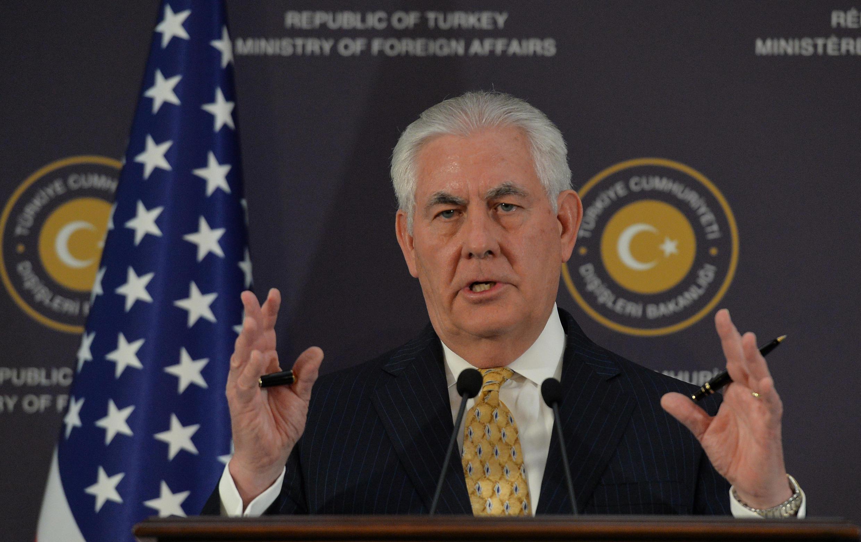 رکس تیلرسون، وزیر امور خارجۀ آمریکا