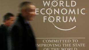Fórum Econômico Mundial acontece em Davos, nos Alpes suíços.
