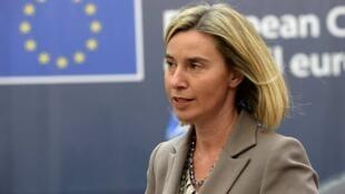 "Federica Mogherini ""فدریکو موگرینی"" مسئول سیاست خارجی اتحادیه اروپا"