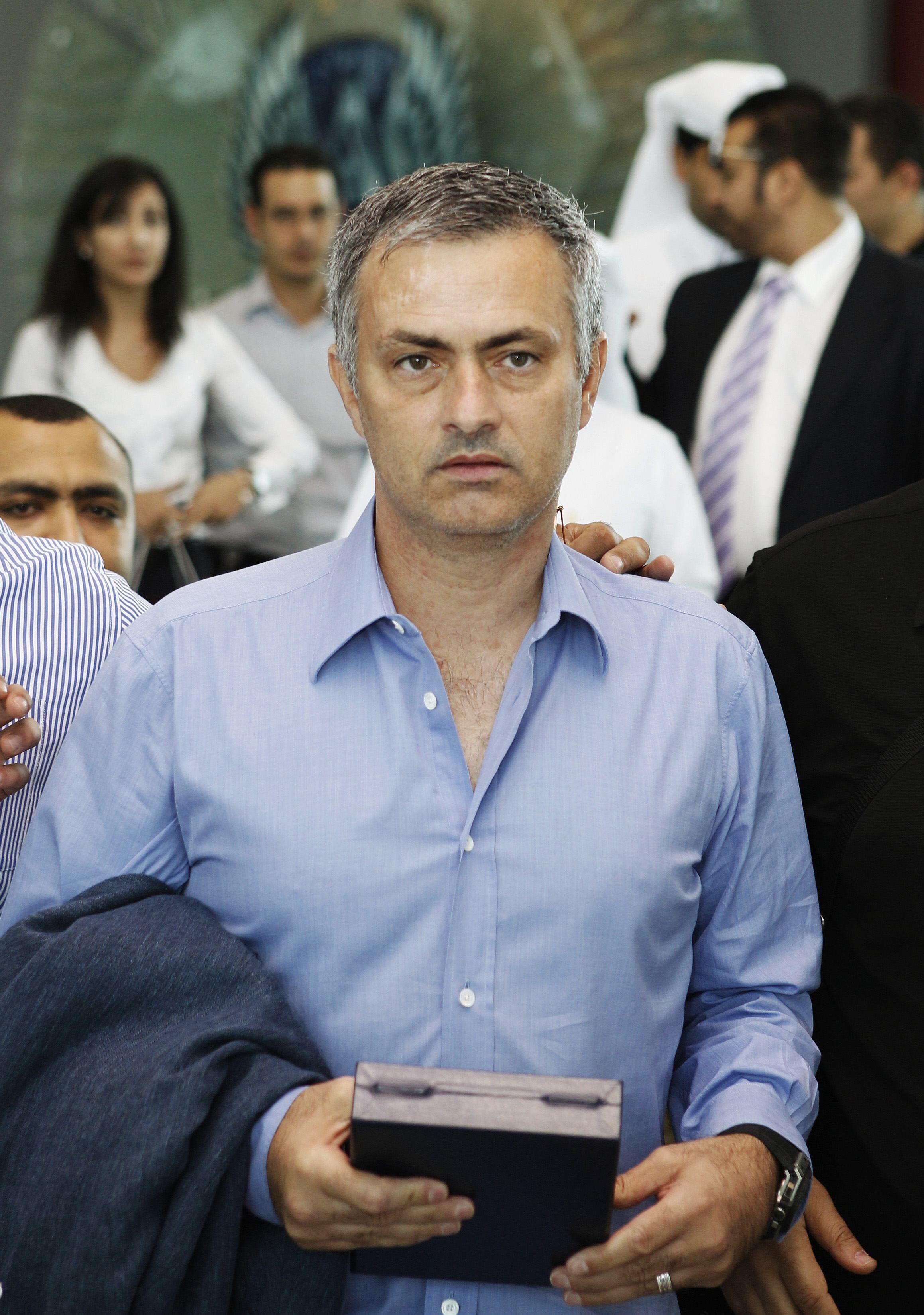 O treinador português José Mourinho.