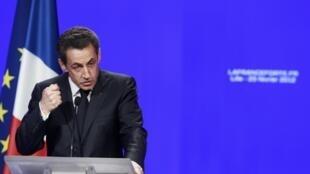 Shuagaban Faransa Nicolas Sarkozy