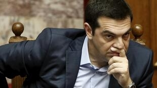 O premiê grego, Alexis Tsipras