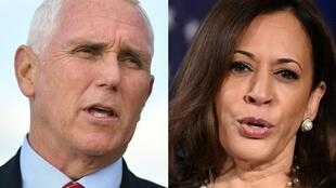 Vice President Mike Pence and Kamala Harris's showdown has taken on an unusually pressing quality, given President Donald Trump's coronavirus diagnosis means the White House deputy is just a heartbeat away from the presidency