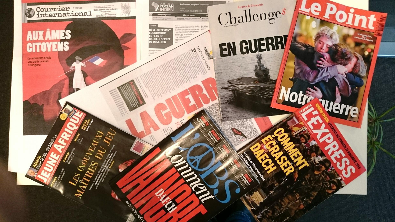 Imprensa Semanal francesa de 21 de outubro de 2015