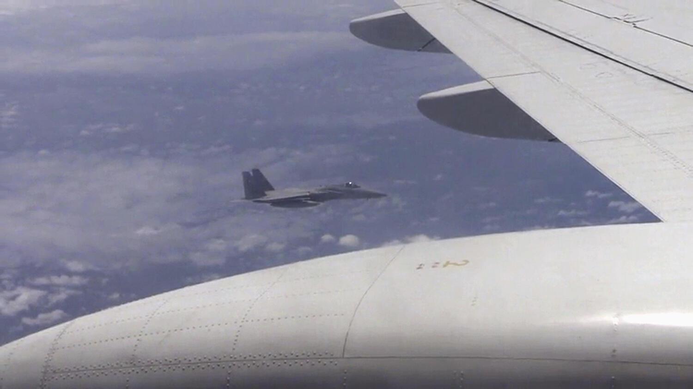 Vùng phòng không TQ đã áp đặt trên Biển Hoa Đông.  Ảnh minh họa