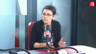 Nathalie Arthaud sur RFI, le 08 mai 2019.
