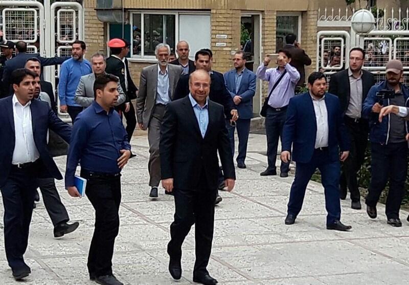 محمد باقر قالیباف در آخرین ساعات، ثبت نام کرد