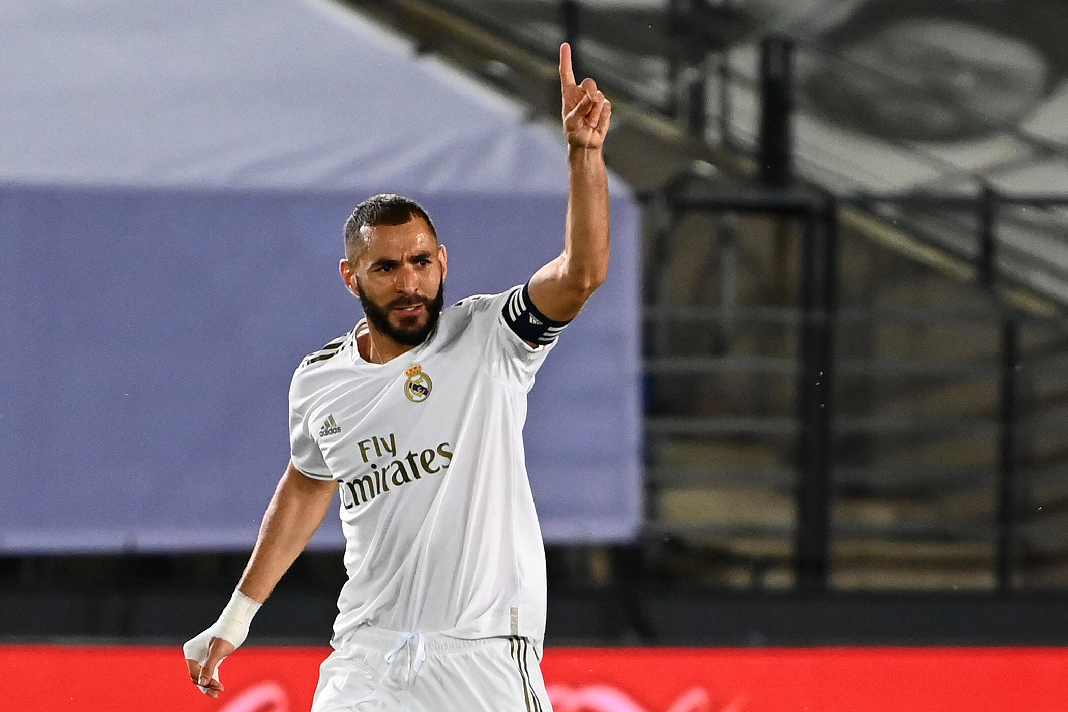 Karim Benzema scored his 23rd goal of the season as Real Madrid beat Alaves 2-0 on Friday.