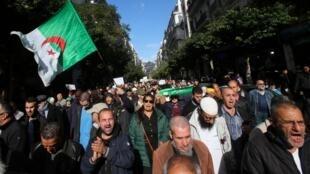algérie manifestation
