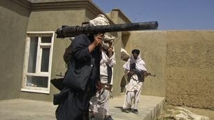 Taliban recruits in southern Afghanistan, 5 May 2011